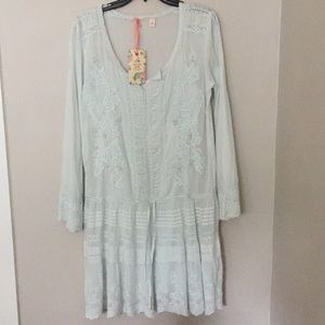 Chelsea and Violet Drop Waist Dress size S NWT